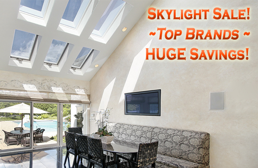 Skylight Sale in Los Angeles, CA