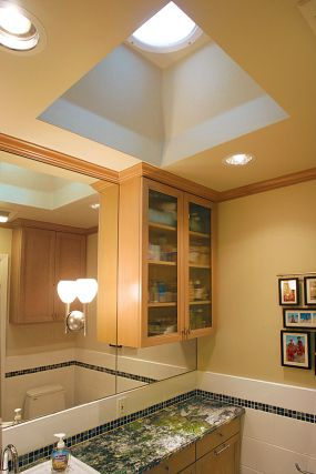 Velux sun tunnel full service sun tunnel skylight company for How do you get into interior design
